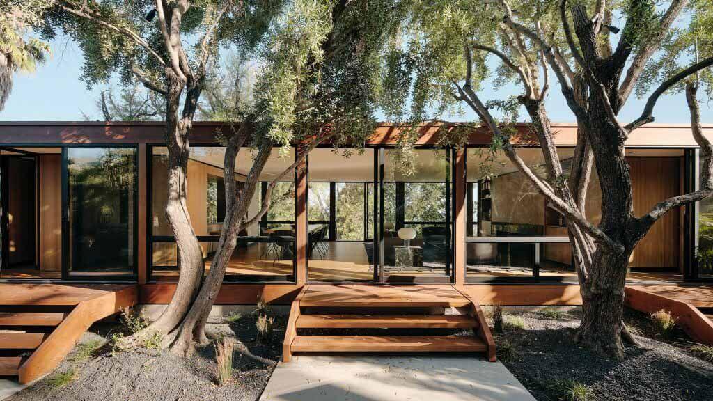Woods + Dangaran обновляет дом в Калифорнии 1960-х годов Крейг Элвуд