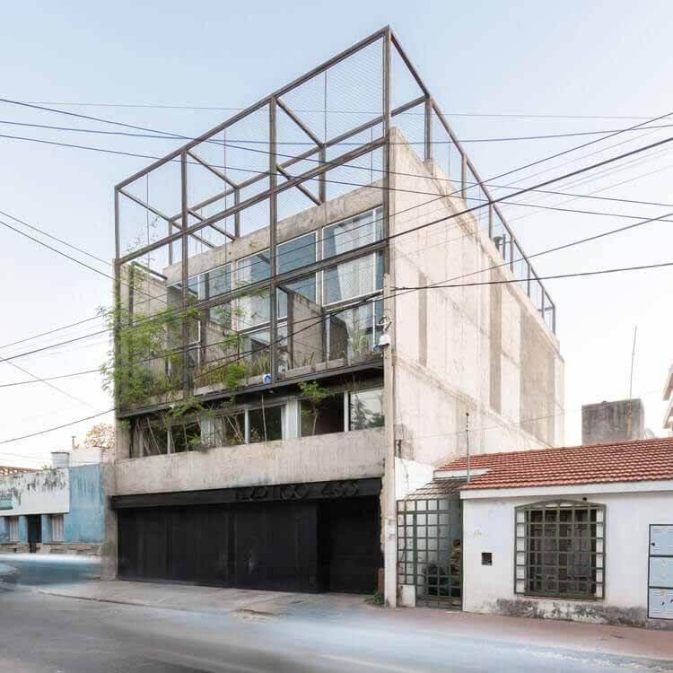 Здание Триптико / Мариела Маркизио + Кристиан Нанзер + Херман Маргерит, © Gonzalo Viramonte