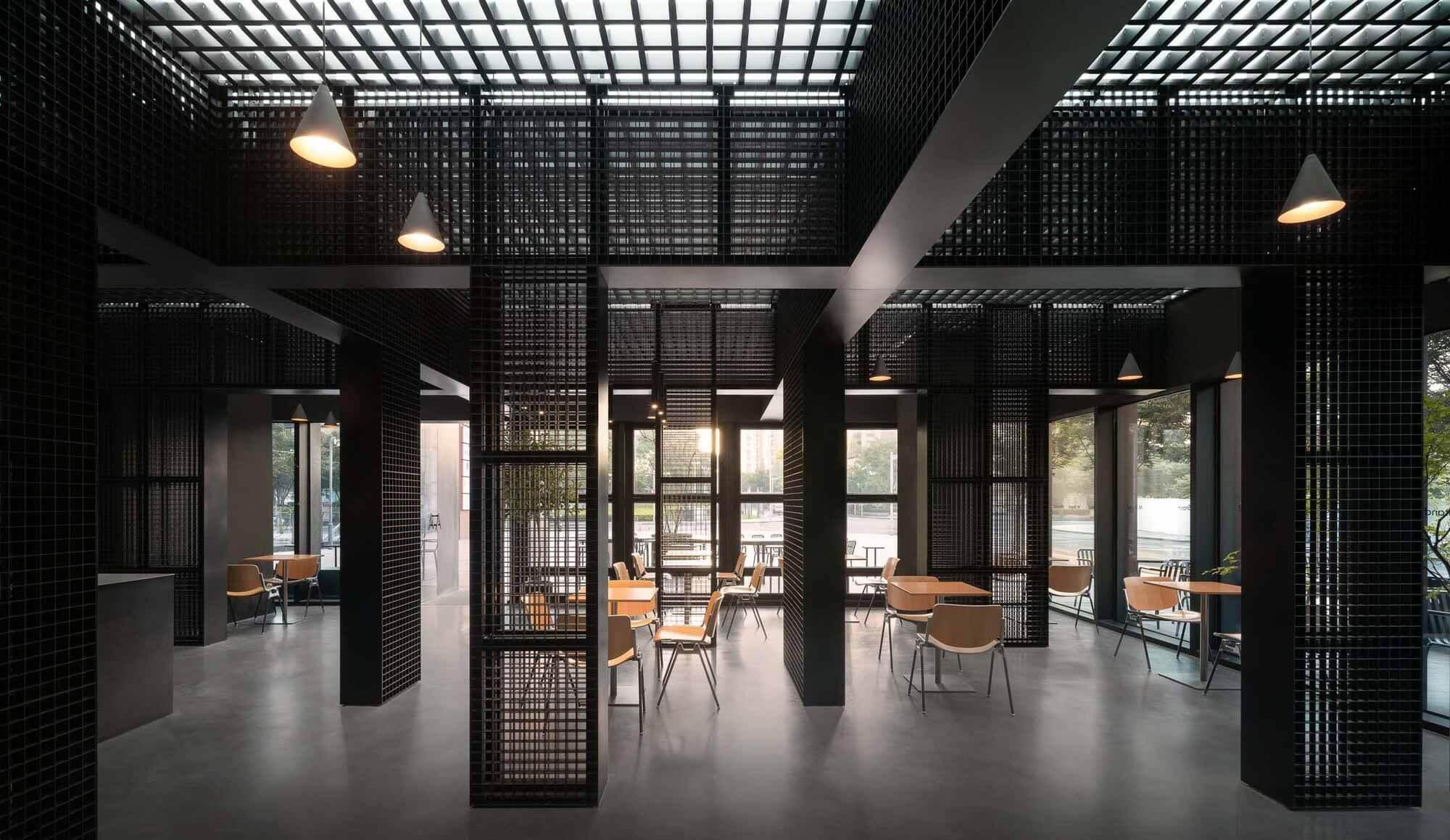 Магазин стендов M / Dazhou And Associates