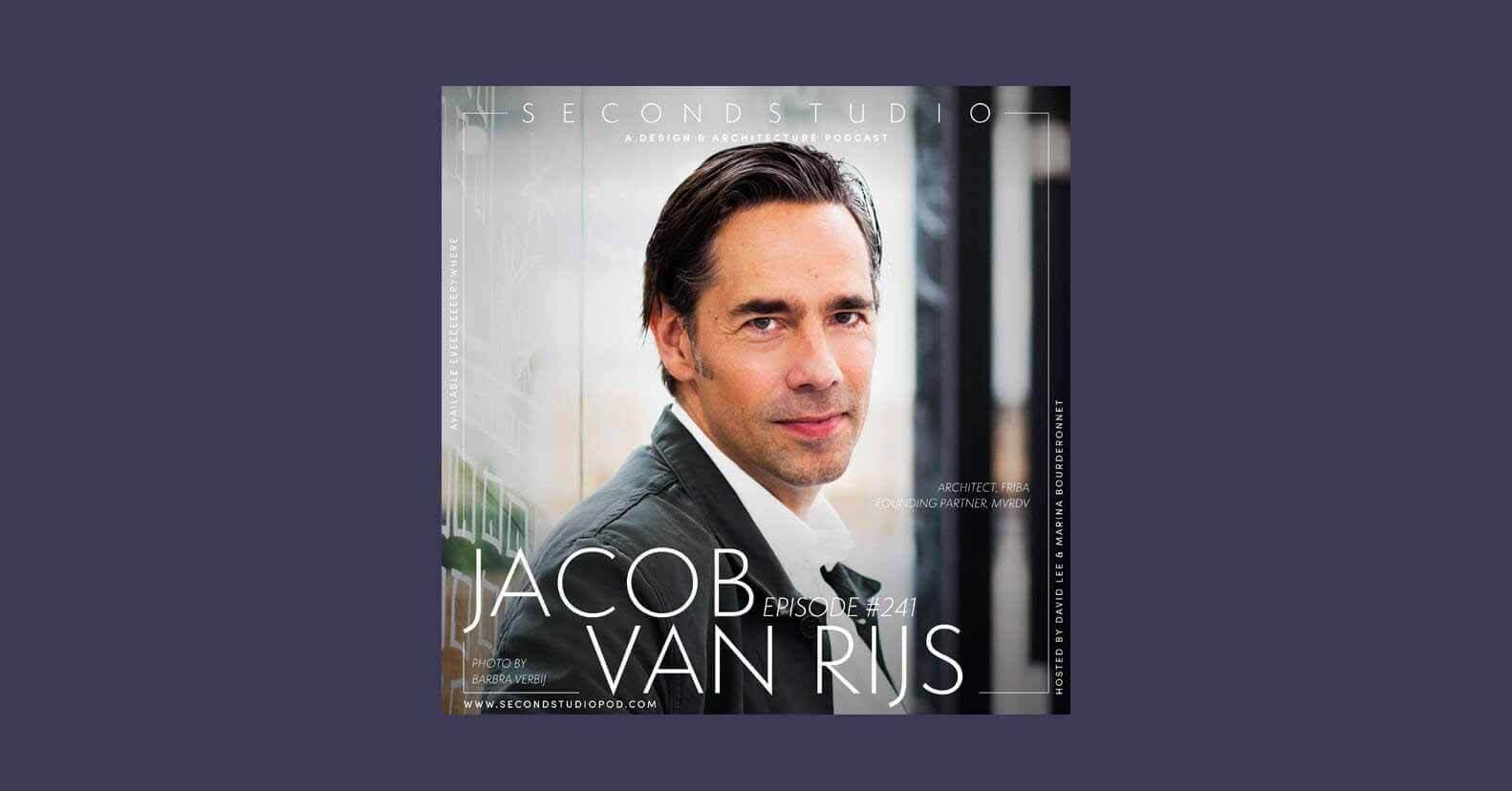 Подкаст The Second Studio: интервью с Якобом ван Рейс, партнером-основателем MVRDV