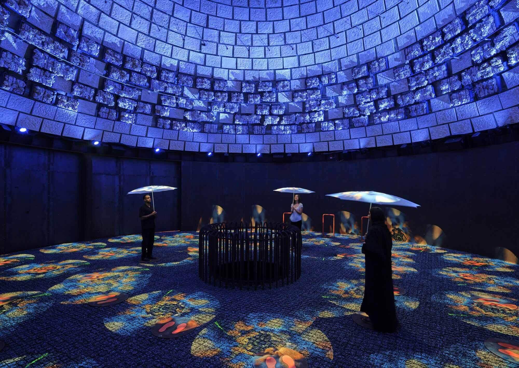 Павильон Нидерландов на Expo 2020 Dubai создает новый временный биотоп в пустыне