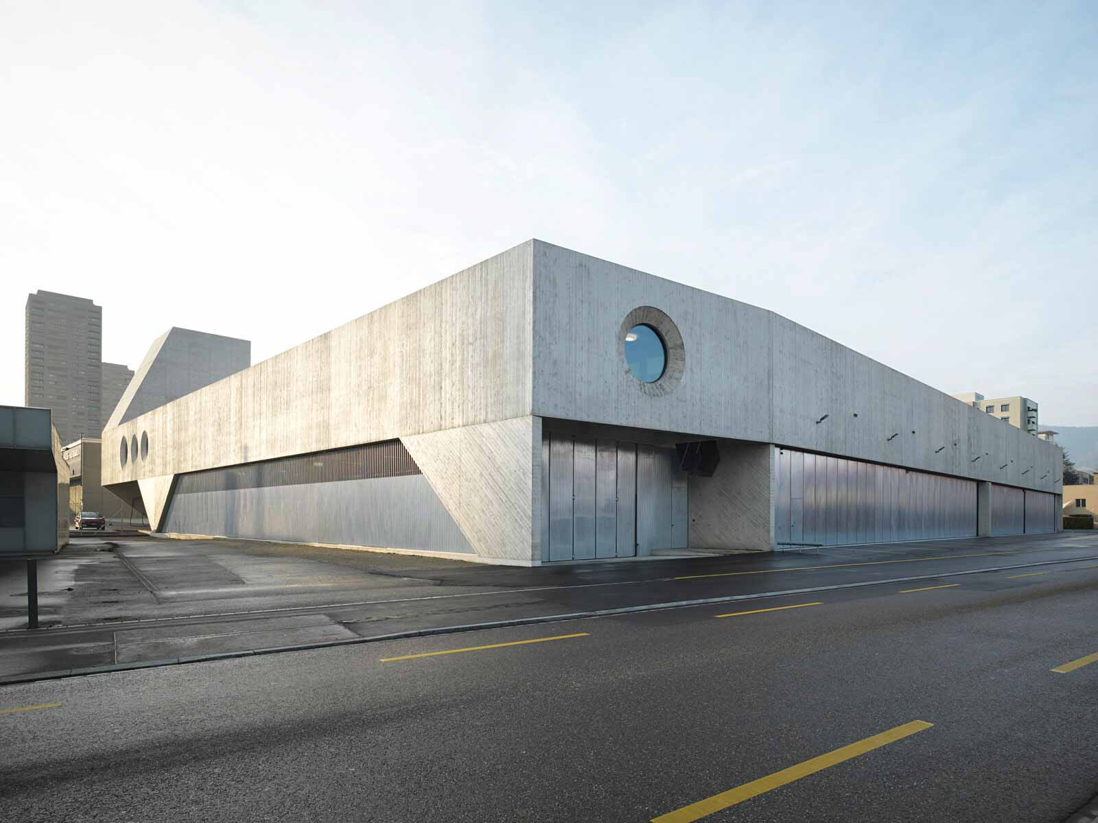 VBZ Busgarage Facility / Pool Architekten