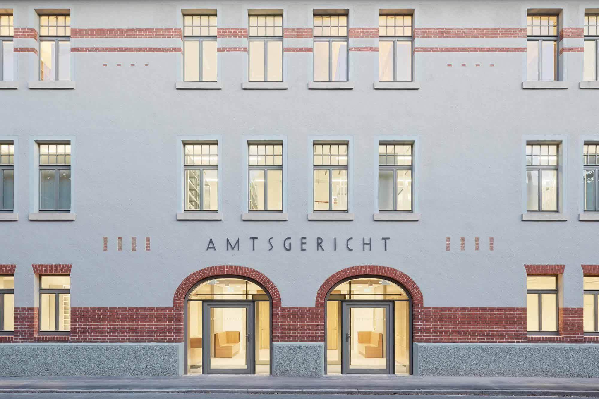 Ремонт Тюбингенского районного суда / Dannien Roller Architekten + партнер
