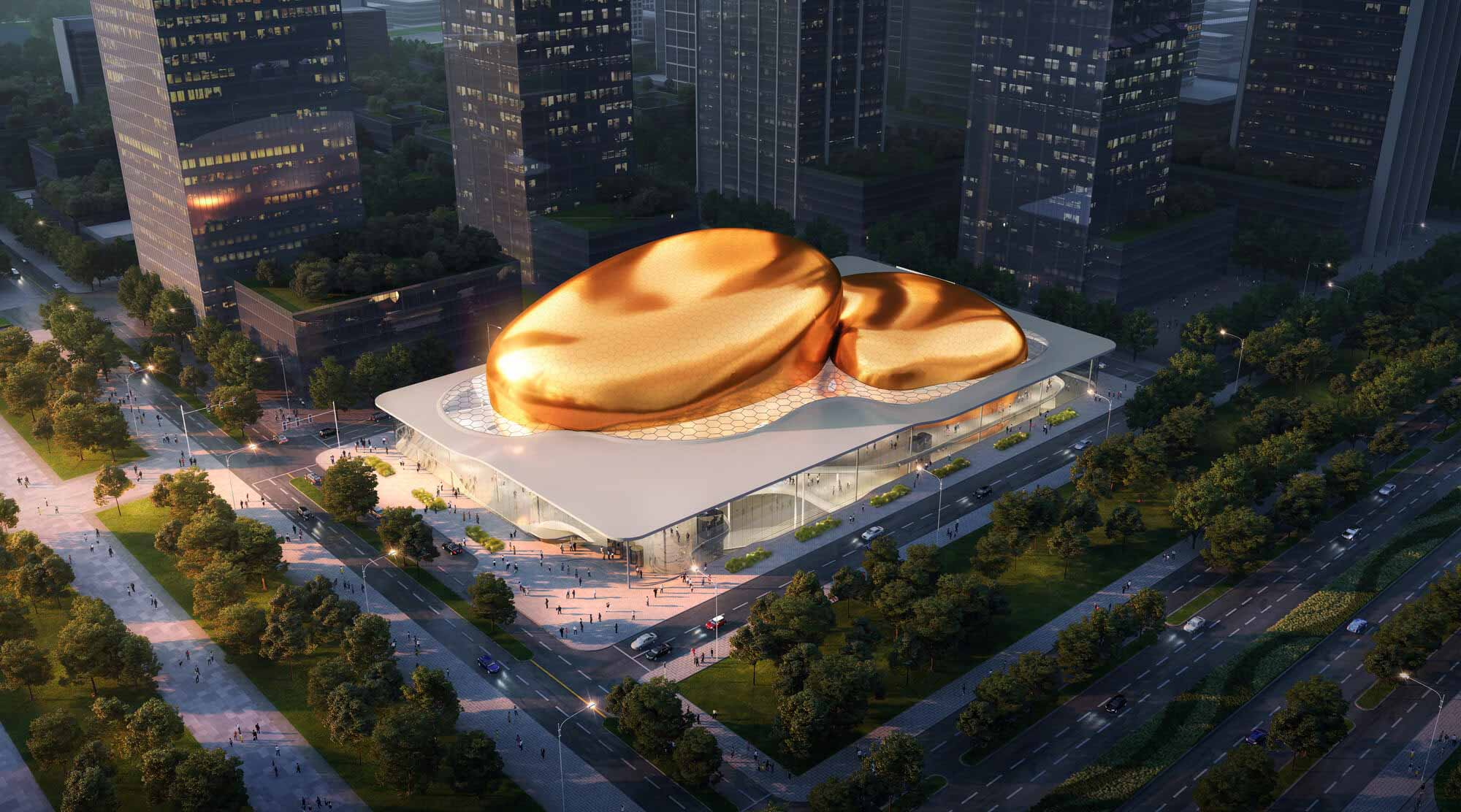 Архитекторы Ennead выбраны для проектирования Международного концертного центра в Шэньчжэне