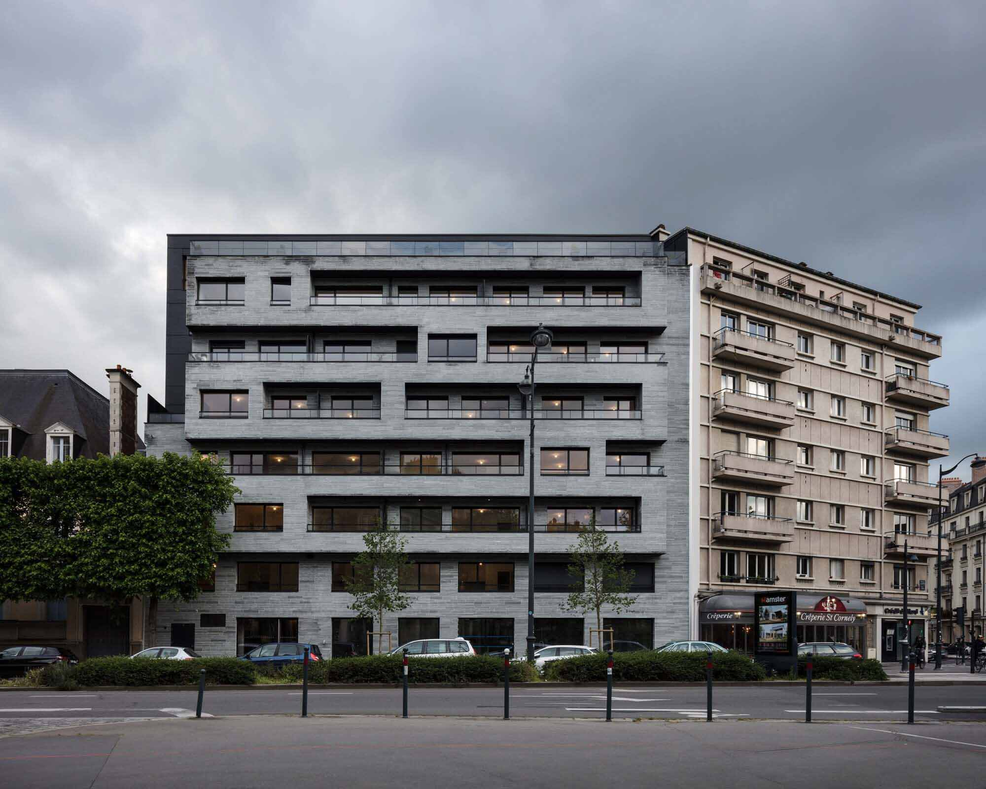 Le One Apartments / Christophe Rousselle Architecte