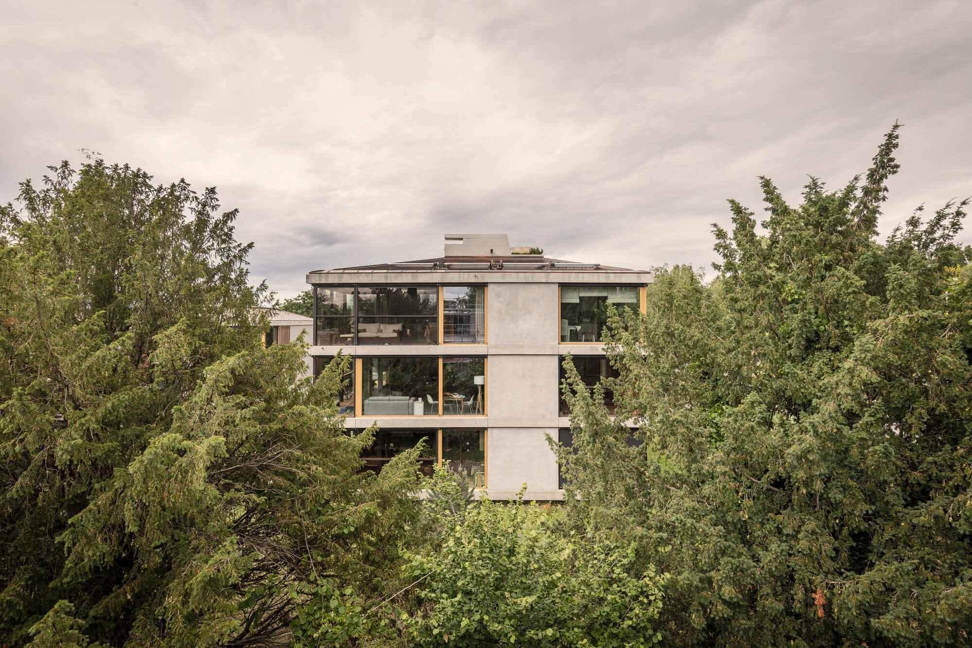 HMC_P198 / 19 Апартаменты / Philippe Meyer Architecte