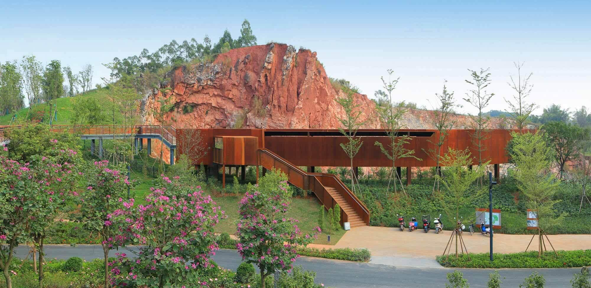 Карьерные сады в выставочном парке Nanning Garden / ATELIER DYJG