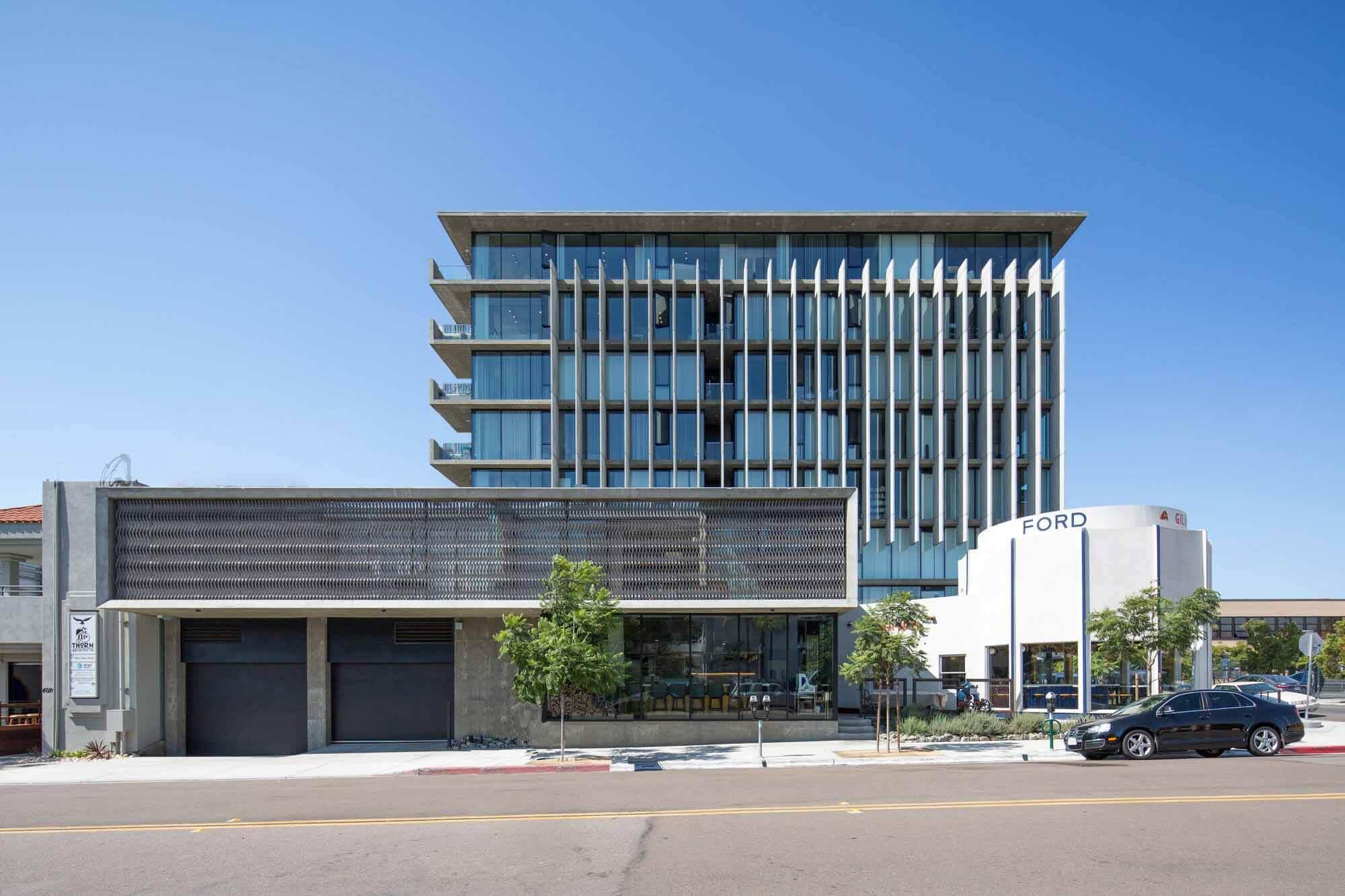 Апартаменты «Форт» / архитектор Джонатана Сигала