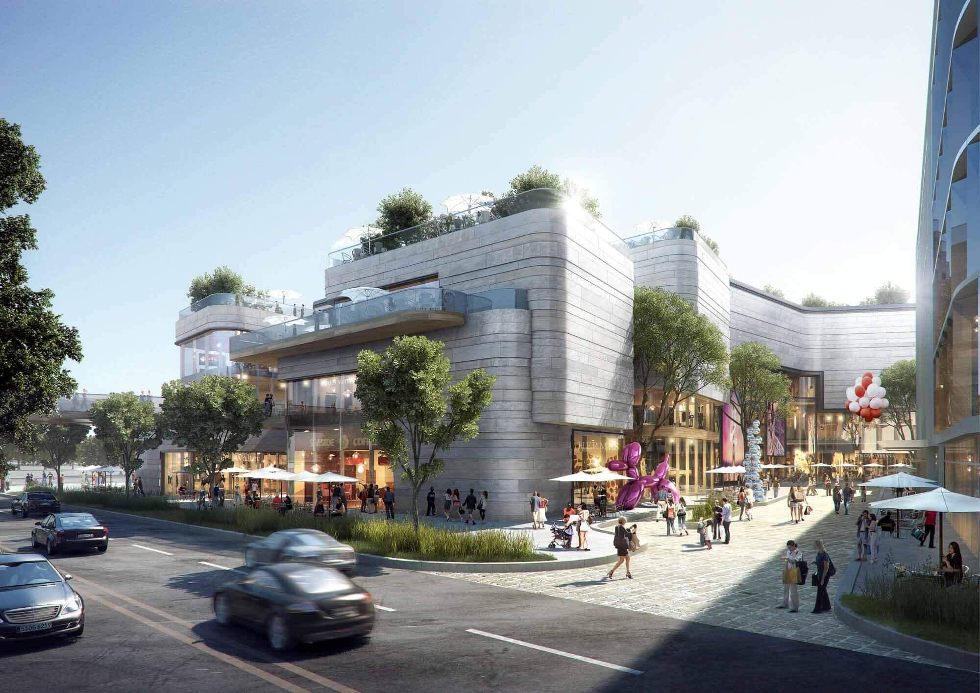 Aedas Designs Garden City в Шанхае