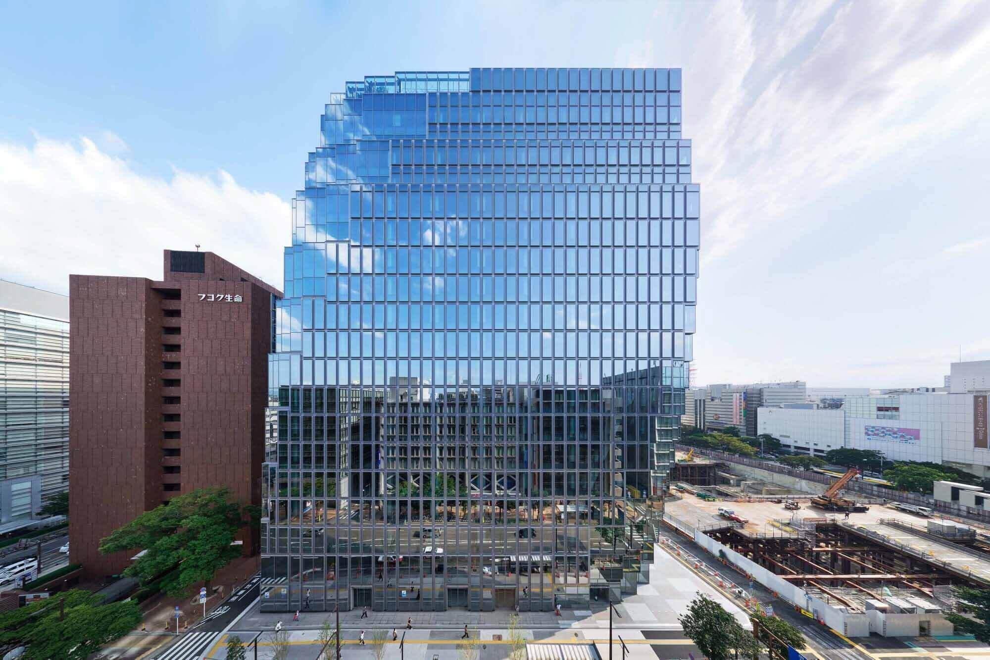 Бизнес-центр Tenjin / OMA