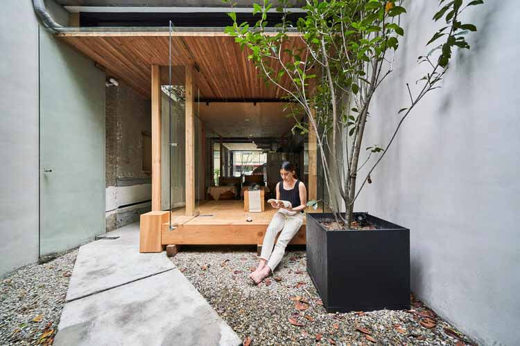 Zhao Zhao Tea Lounge / Студия дизайна Soar, © Hey!  Сыр
