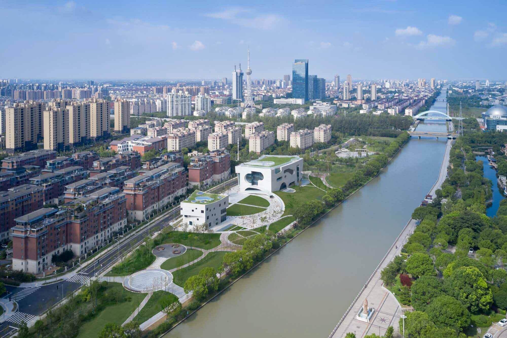 Центр культуры и здоровья Shanghai Cofco / Steven Holl Architects