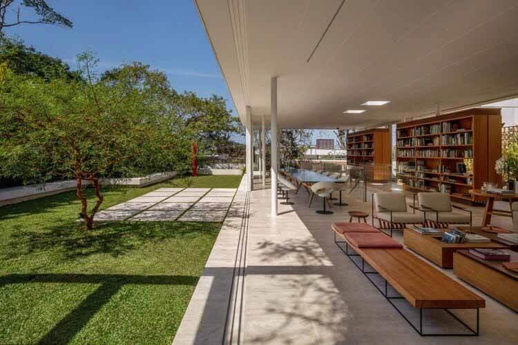 Дополнительный Дом Книги / Siqueira + Azul Arquitetura, © André Nazareth