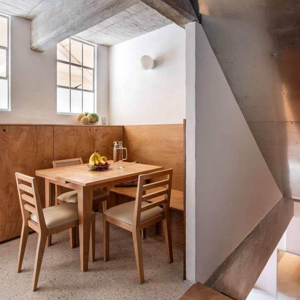 Эскобедо Солис обновил компактную квартиру в башне CUPA в Мехико