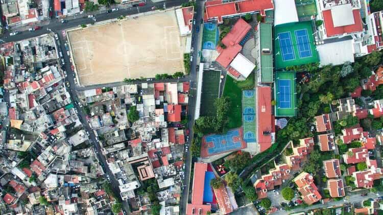 Есть ли решение проблемы неравенства в городах Латинской Америки?, Мехико, Мексика.  Изображение © Johnny Miller Photography