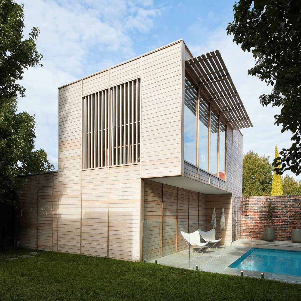 Foomann добавляет тренажерный зал и бассейн в дом на Бродвее в Мельбурне
