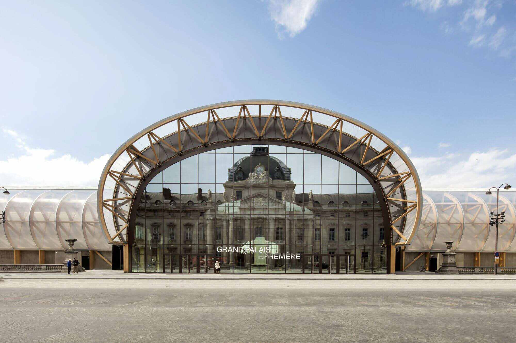 Grand Palais Ephémère / Wilmotte & Associés Sa