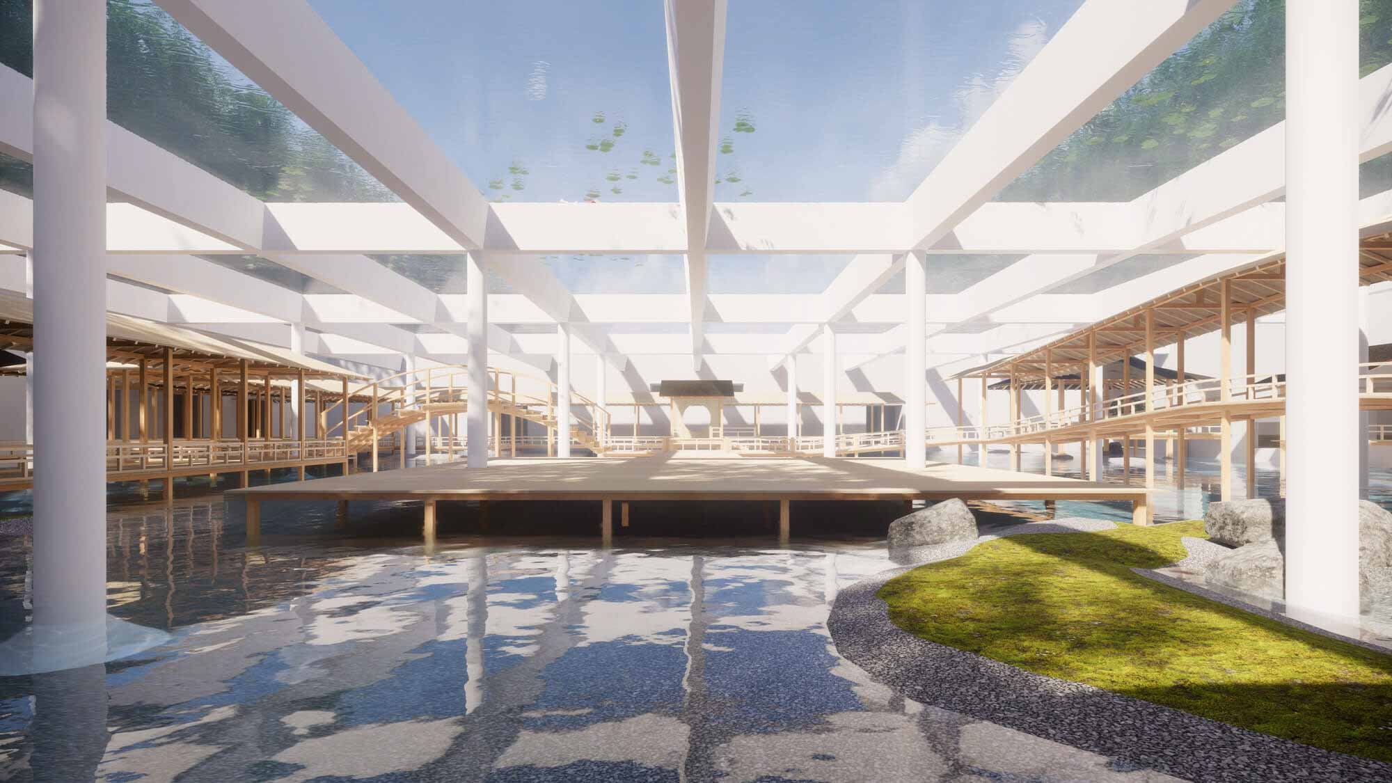 Хироши Самбуичи проектирует расширение цистерн Копенгагена