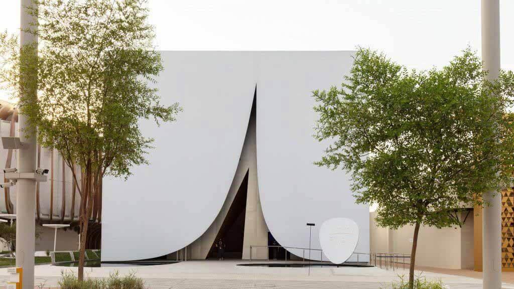 JKMM Architects «привносит в ОАЭ фрагмент финской природы» с павильоном Dubai Expo.