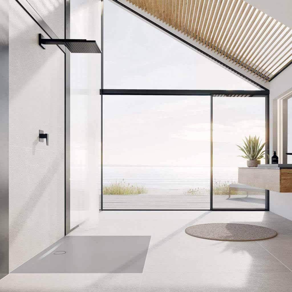Kaldewei открывает душ с поверхностью, разработанной Вернером Айсслингером