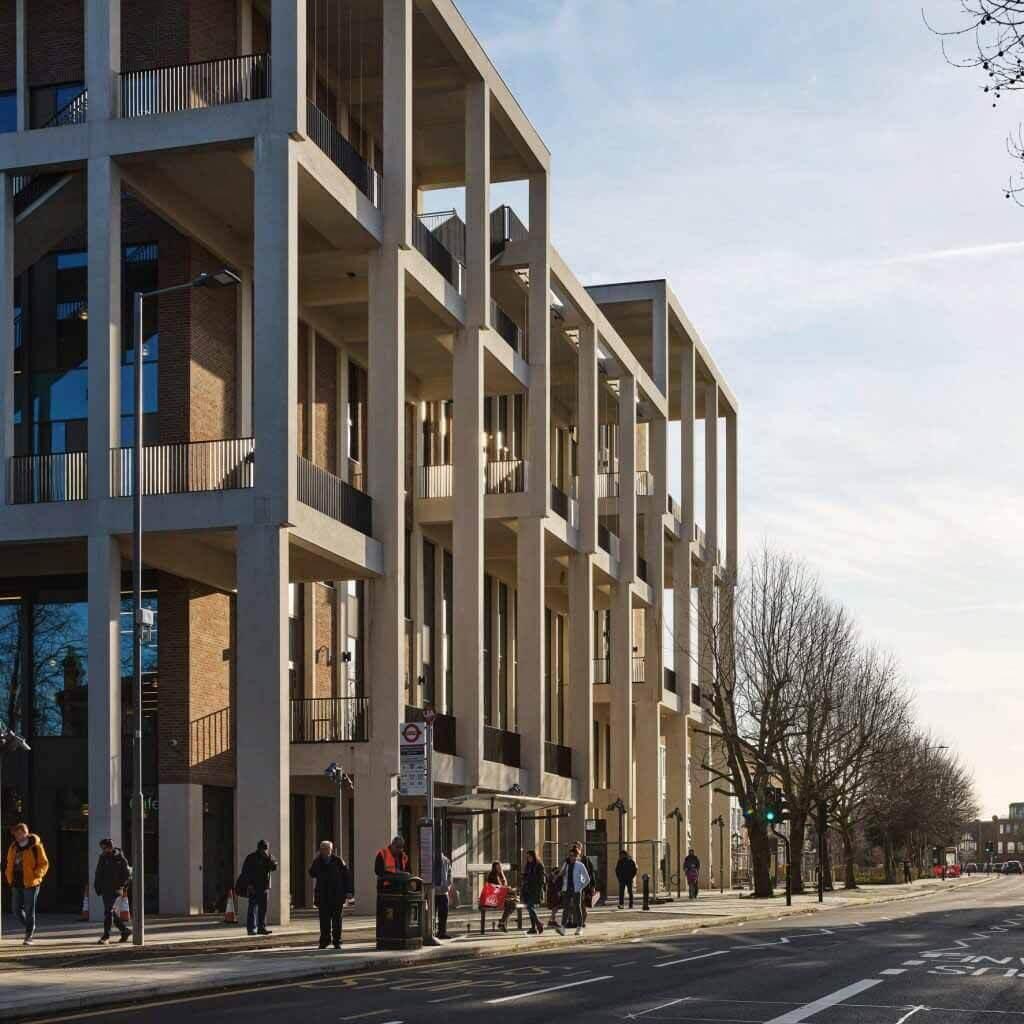 Кингстонский университет в Лондоне — Таунхаус получил премию Стирлинга 2021 года