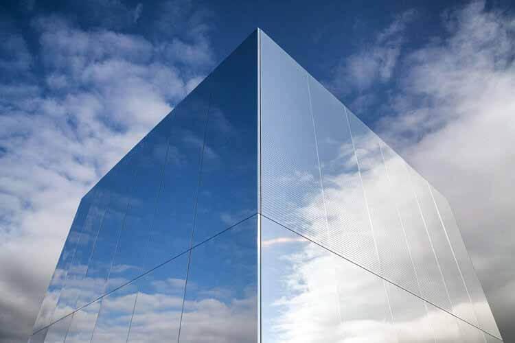 Когда дизайн сочетается с функциональностью в фасадах: высокотехнологичные алюминиевые поверхности, © Stacbond