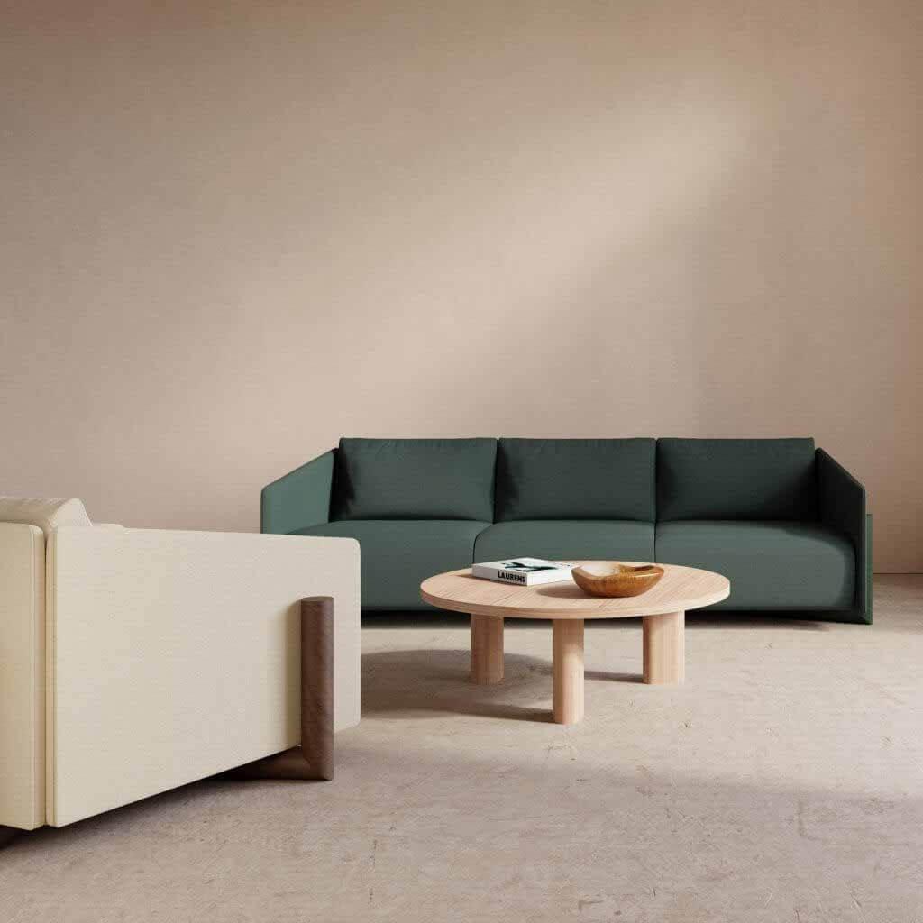 Коллекция деревянных сидений Чарльза Калпакяна для Kann Design