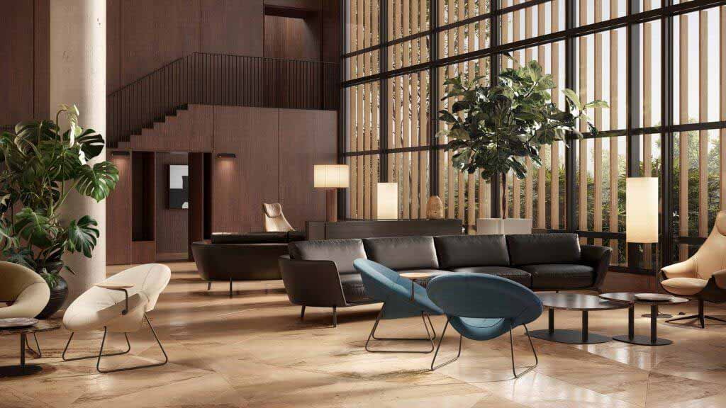 Кресло LXR18 для Leolux LX среди новинок на Dezeen Showroom
