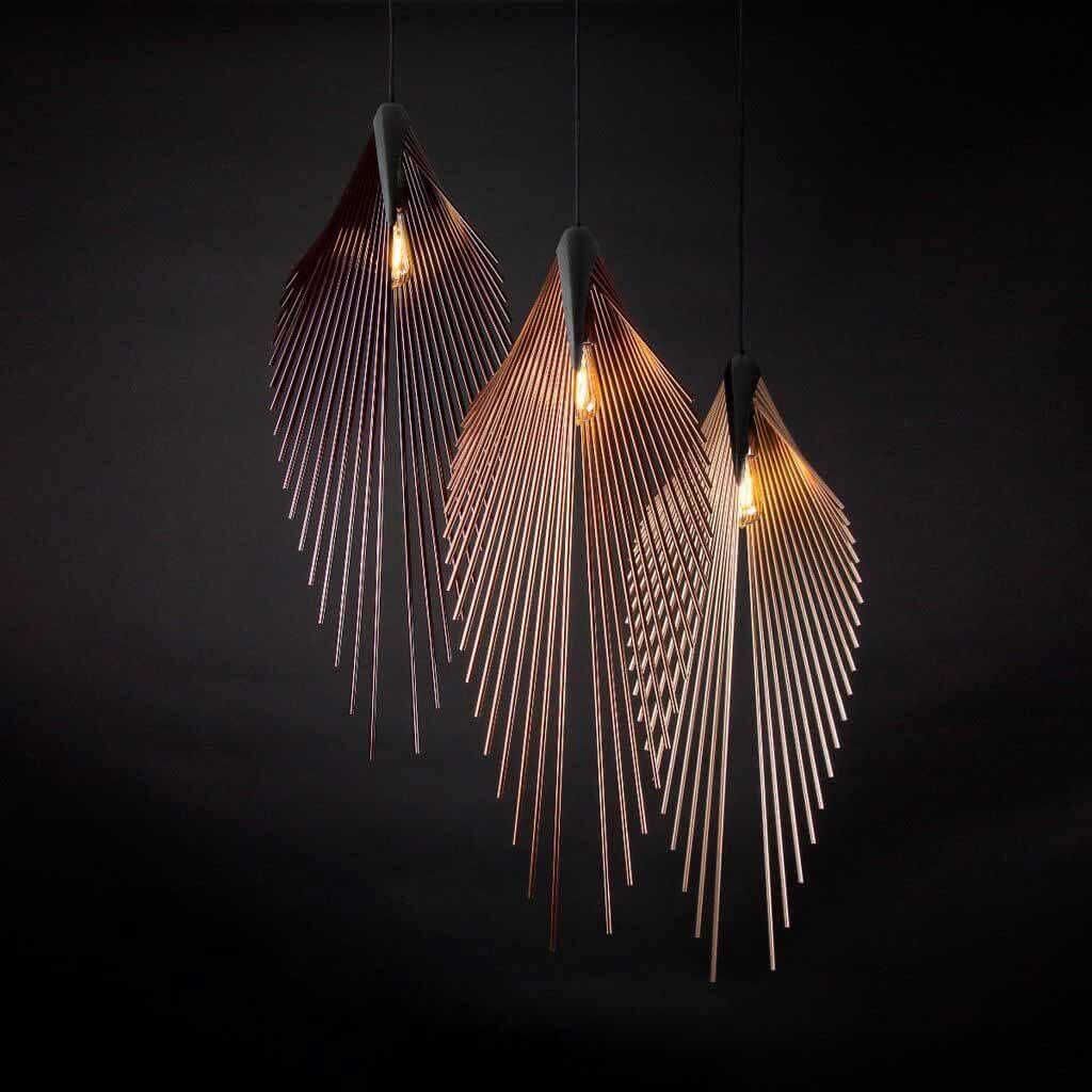 Лампа Leaf, разработанная Даниэлем Мато для осветительного бренда Loomiosa