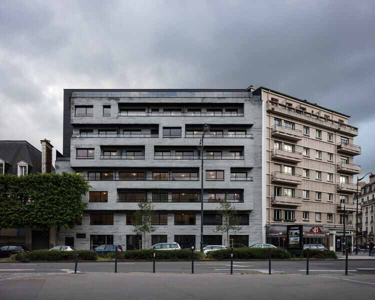 Апартаменты Le One / Christophe Rousselle Architecte, © Charly Broyez