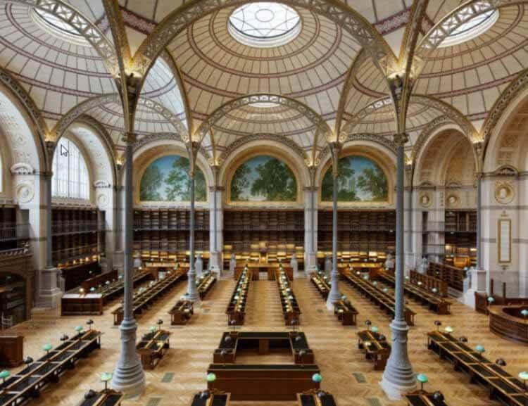 Национальная библиотека Франции наконец завершена после 10-летнего ремонта, © Takuji Shimmura / BnF