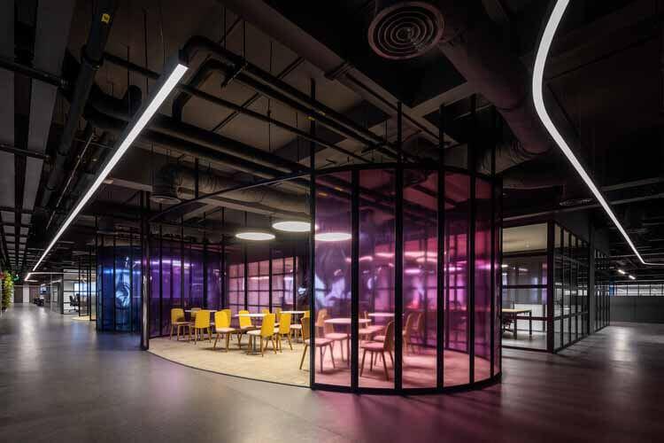 Офис Crystal Martin во Вьетнаме / D&P Associates, Вьетнам, © Hiroyuki Oki