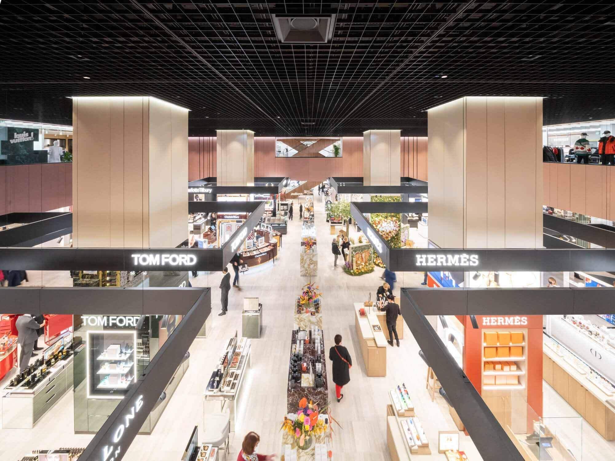 OMA завершила строительство первого квадранта универмага KaDeWe в Берлине