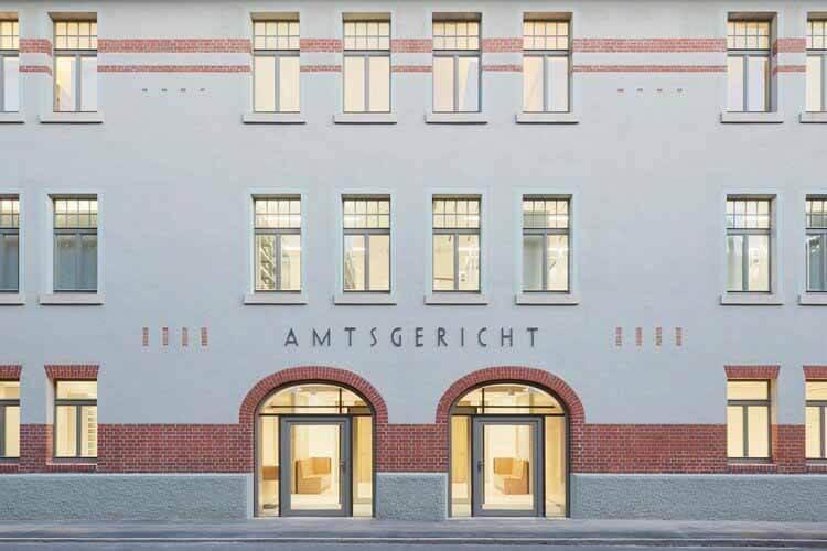 Ремонт Тюбингенского окружного суда / Dannien Roller Architekten + Partner, © Dietmar Strauß