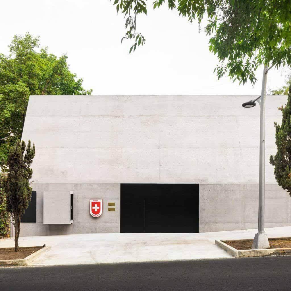 Резиденция посла Швейцарии отремонтирована в Мехико