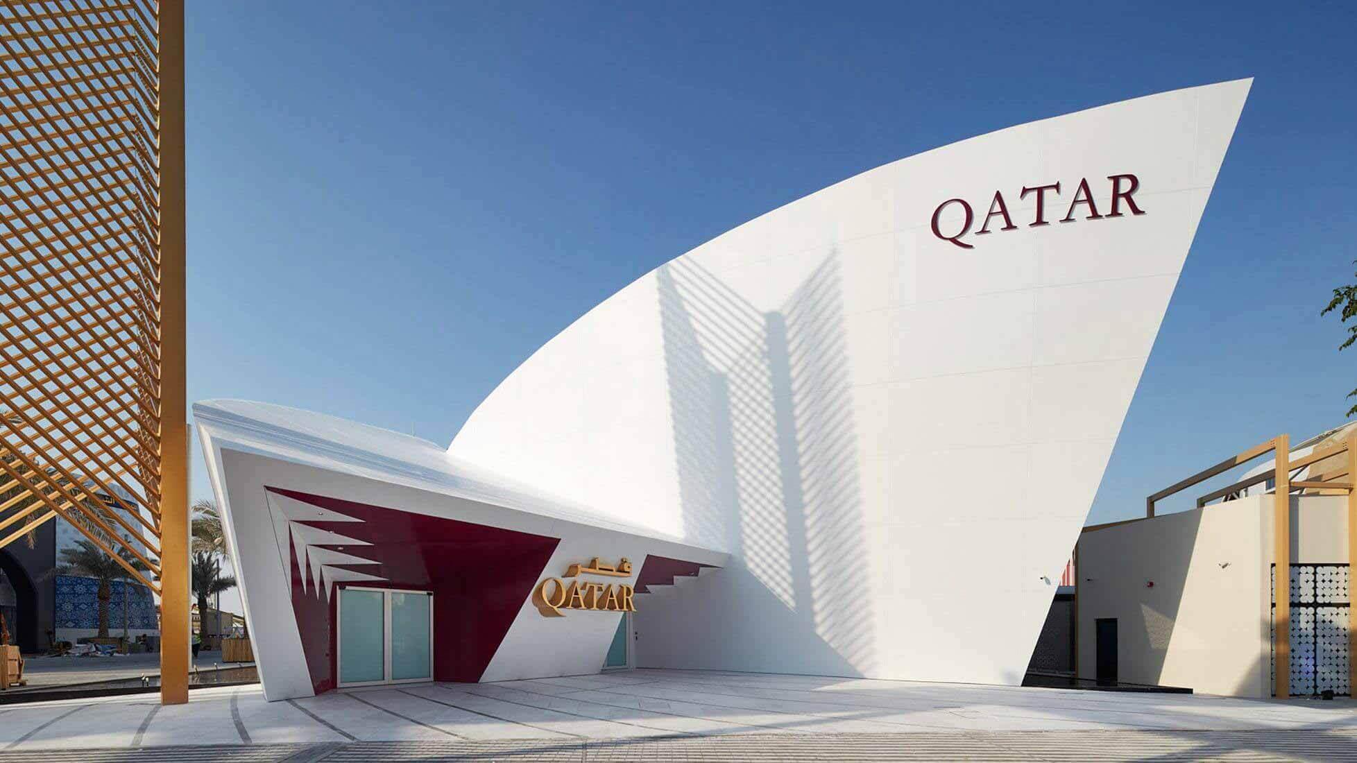Сантьяго Калатрава представляет павильон Катара на выставке Expo 2020 Dubai