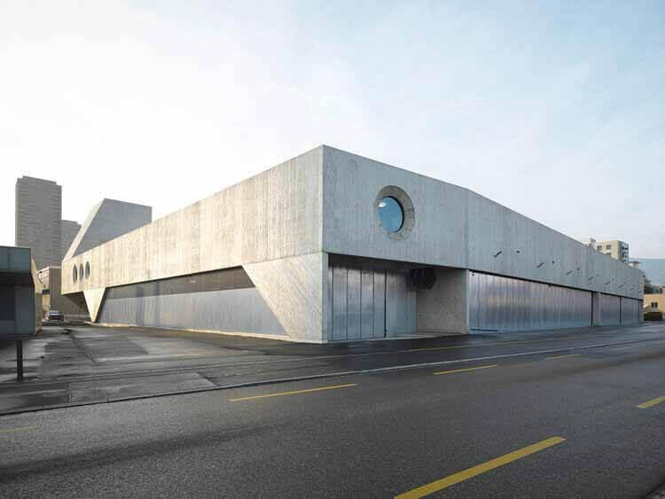 VBZ Busgarage Facility / Pool Architekten, © Андреа Хелблинг
