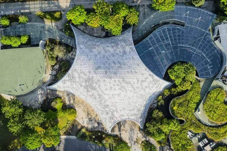 Зеленая архитектура: 15 отмеченных наградами проектов iF, которые создают павильон «Оазис».  Изображение предоставлено iF DESIGN AWARD